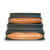 PLAQUE A BAGUETTES ANTI-ADHERENTE - USTENSILES A PATISSERIE - GOBEL