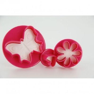 scrapcooking decoupoirs pour pate a sucre coeur fleur papillon ustensiles a patisserie. Black Bedroom Furniture Sets. Home Design Ideas