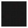 LOT DE 20 SERVIETTES DE TABLE INTISSE 40 X 40 CM COSMOS OR FOND NOIR - FRANCOISE PAVIOT
