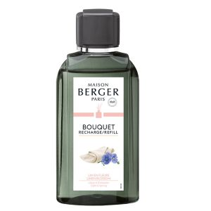 RECHARGE 200ML LIN EN FLEUR POUR BOUQUET AROMATIQUE - MAISON BERGER PARIS