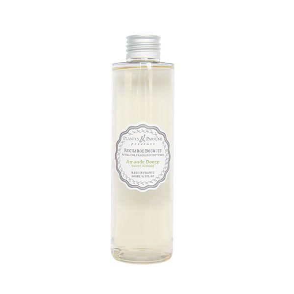 recharge pour bouquet parfume 200ml amande douce plantes et parfums de provence. Black Bedroom Furniture Sets. Home Design Ideas