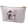 POCHETTE DE MAQUILLAGE 13 X 18 CM DECOR CHAT  - KIUB