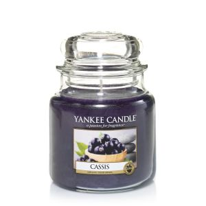 BOUGIE PARFUMEE CASSIS  CLASSIC JARRE MOYENNE - YANKEE CANDLE