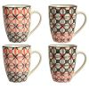 LOT DE 4 CHOPES MUGS  CERAMIQUE SUL- SEMA