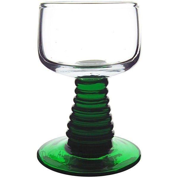 lot de 6 verres schnaps roemer uni pied torsade 2cl. Black Bedroom Furniture Sets. Home Design Ideas