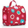 TOILETBAG XL FUNKY DOTS ROUGE TROUSSE DE TOILETTE A SUSPENDRE - REISENTHEL