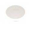 LOT DE 6 ASSIETTE EN FIBRE DE BAMBOU NATUR DESIGN URBAN GREY - MAGU