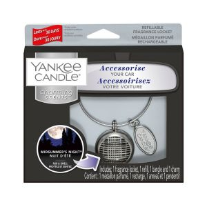 CHAMING SCENTS MEDAILLON PARFUME POUR VOITURE NUIT D'ETE - YANKEE CANDLE