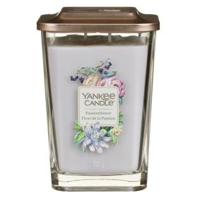 ELEVATION GRANDE BOUGIE PARFUMEE 2 MECHES FLEUR DE LA PASSION - YANKEE CANDLE