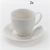 LOT DE 2 TASSES A THE 28 CL CAPRICE  - JD DIFFUSION