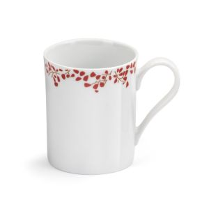 MUG 27 CL  DECOR STRAWBERRY ROUGE - MEDARD DE NOBLAT