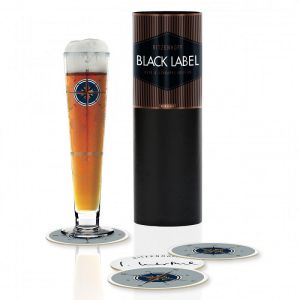 VERRE A BIERE BLACK LABEL 0,4L IRIS INTERTHAL 2018 - RITZENHOFF