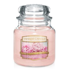 BOUGIE PARFUMEE MOYENNE JARRE BOUQUET POUDRE - YANKEE CANDLE