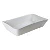 PLAT A FOUR EN PORCELAINE  MELODY 41 X 26 CM - TABLE ET PASSION