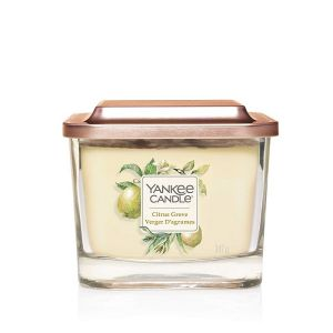 ELEVATION BOUGIE PARFUMEE MOYENNE 3 MECHES VERGER D'AGRUMES - YANKEE CANDLE