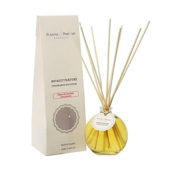 bouquet brins parfumes 100 ml fleur de cerisier plantes et parfums de provence. Black Bedroom Furniture Sets. Home Design Ideas
