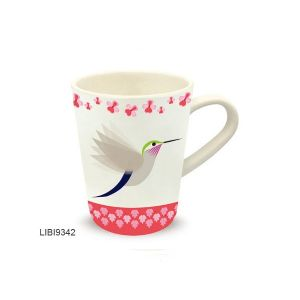 MUG EN BAMBOU DECOR I LIKE BIRDS COLIBRI- FOX TROT