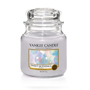 BOUGIE PARFUMEE MOYENNE JARRE MOTS DOUX - YANKEE CANDLE