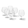 LOT DE 6 VERRES  A COGNAC CHEERS BAR 700 ML - LEONARDO