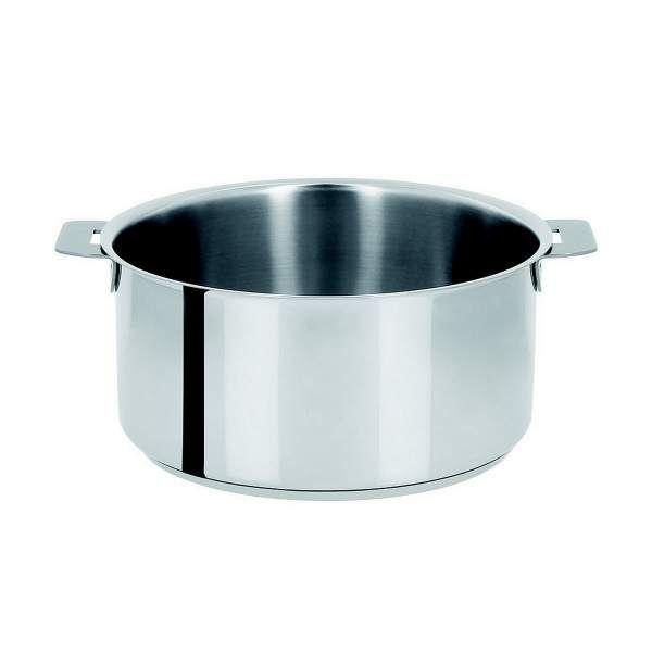 Casserole et faitout classique cristel ustensile de cuisson pour tous feux y compris l 39 induction - Casserole inox 18 10 manche amovible ...