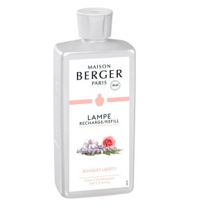 BOUQUET LIBERTY  RECHARGE PARFUM 500 ML POUR DIFFUSEUR LAMPE BERGER - MAISON BERGER PARIS
