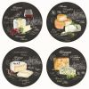 COFFRET 4 ASSIETTES DESSERT WORLD OF CHEESE - EASYLIFE