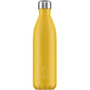 BOUTEILLE ISOTHERME - JAUNE MAT 750 ML - CHILLY'S