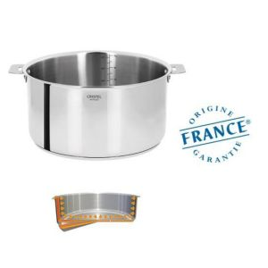 FAITOUT INOX 26 CM MULTIPLY CASTELINE AMOVIBLE - CRISTEL