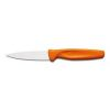 COUTEAU D'OFFICE MANCHE ORANGE 8 CM - WUSTHOF