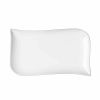 LOT DE 6 ASSIETTES RECTANGULAIRES EN PORCELAINE BLANCHE  20X 12 CM MELODY - TABLE ET PASSION