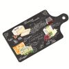 PLAT A FROMAGE WORLD OF CHEESE IMITATION ARDOISE 34,5 x 18 CM - JD DIFFUSION