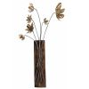 DECOR MURAL BOUQUET BRONZE MORDORE SUR RECTANGLE  - SOCADIS