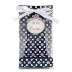 "LOT DE SACHETS A PETITS FOURS 24 PIECES ""All You Need Is Cake""- STADTER"