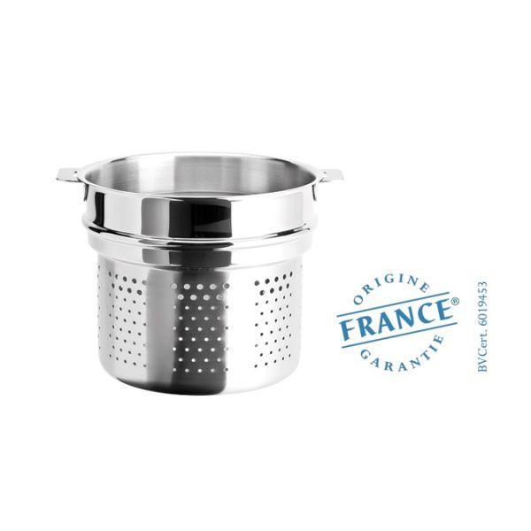 Cristel lement cuit p tes 20 cm pour 500 grammes de p tes for Casseroles et ustensiles culinaire