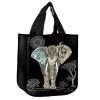 SAC CABAS DECOR ELEPHANT  BIJOUX JEWELS - KIUB
