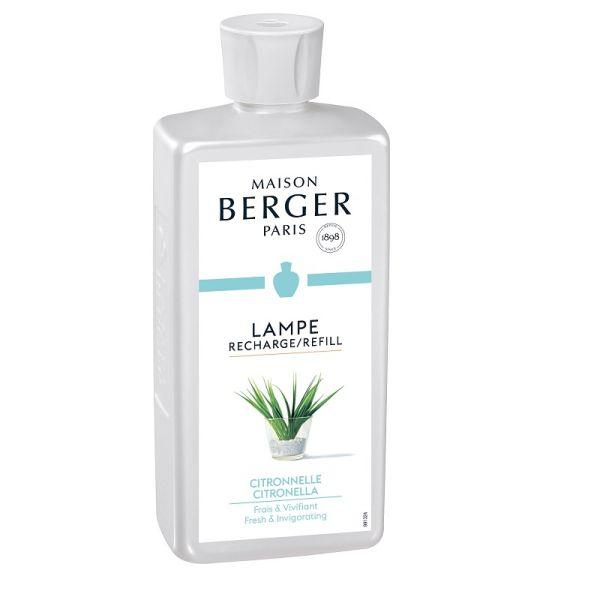 recharge parfum 500 ml citronnelle lampe berger. Black Bedroom Furniture Sets. Home Design Ideas