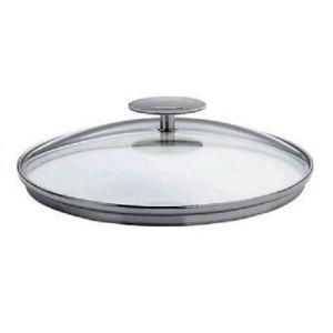 Couvercle en verre bombe platine 16 cm cristel for Casseroles et ustensiles culinaire