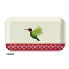 COUPE RECTANGULAIRE EN BAMBOU DECOR I LIKE BIRDS COLIBRI - FOX TROT