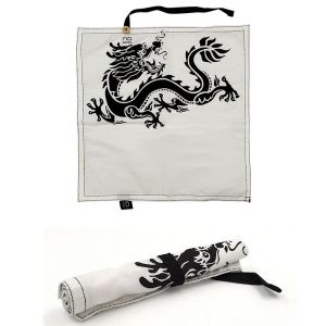 SERVIETTE EN COTON BIO DECOR DRAGON 29 x 29 CM - NU BENTO- COOKUT