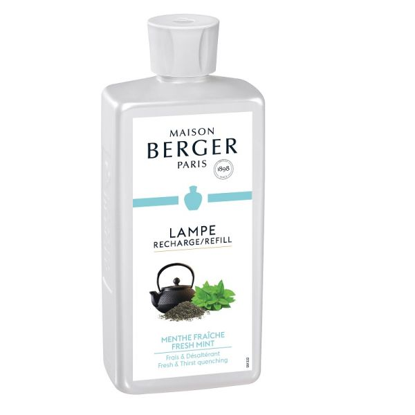 parfum lampe berger recharge parfum pour la maison menthe fraiche au riad 500ml. Black Bedroom Furniture Sets. Home Design Ideas