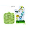 GANT + MANIQUE 20 X 20 CM DECOR ESPRIT NATURE - FOX TROT
