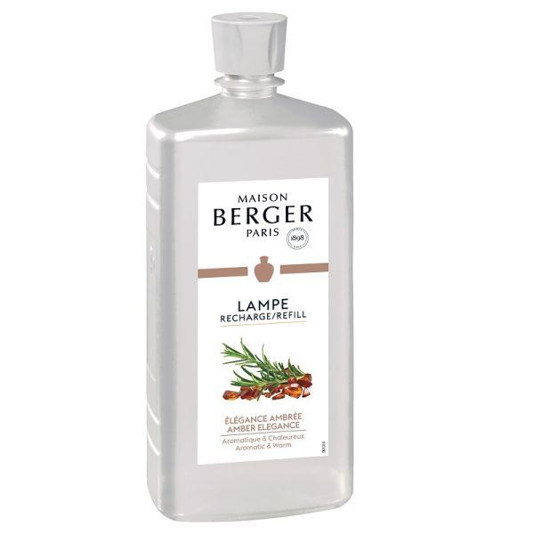 Recharge Parfum 1 Litre Pur Lampe Diffuseur Elegance Ambree Lampe Berger