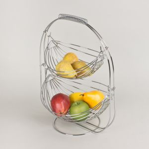 COUPE A FRUITS BASCULO 2 PANIERS HAUTEUR 44 CM  - TABLE ET PASSION