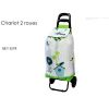 CHARIOT DE COURSES  DECOR ESPRIT NATURE - FOX TROT