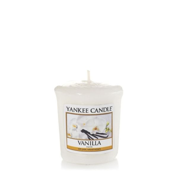 bougie parfumee votive vanille yankee candle. Black Bedroom Furniture Sets. Home Design Ideas
