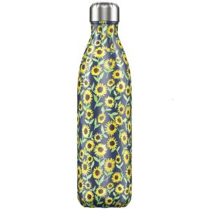 BOUTEILLE ISOTHERME -  FLORAL SUNFLOWERS 750 ML - CHILLY'S