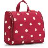 TOILETBAG XL RUBY DOTS TROUSSE DE TOILETTE A SUSPENDRE - REISENTHEL