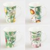 LOT DE 6 MUG XXL VERGER 48 CL EN PORCELAINE - TABLE ET PASSION