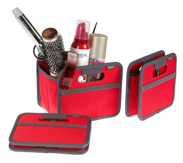 boite de rangement telecommande vide poche pliable mini hibiscus rouge meori. Black Bedroom Furniture Sets. Home Design Ideas