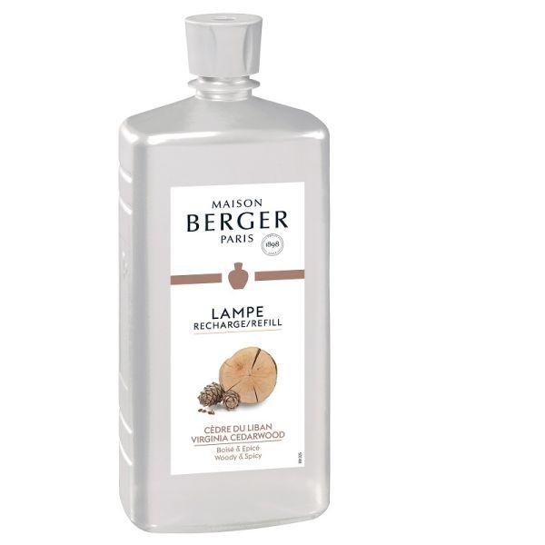 recharge parfum pour le diffuseur 1 litre cedre du liban le berger